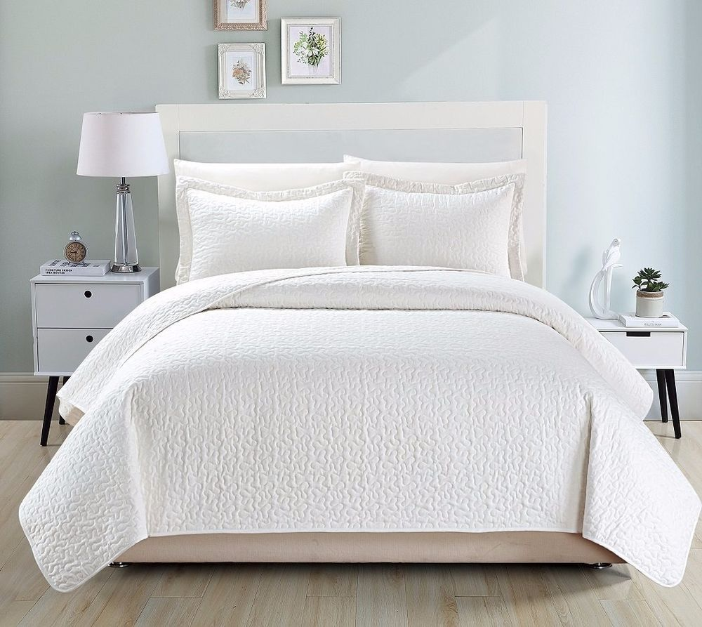 100 Best Queen Size Sheets Queen Bed Frame With  : Comfy Bedding Jigsaw Quilted 3 piece Bedspread Coverlet Set from 45.76.23.192 size 1000 x 893 jpeg 121kB