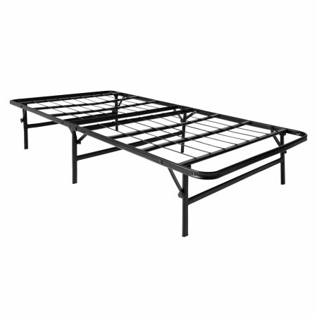 LUCID Foldable Metal Platform Bed Frame